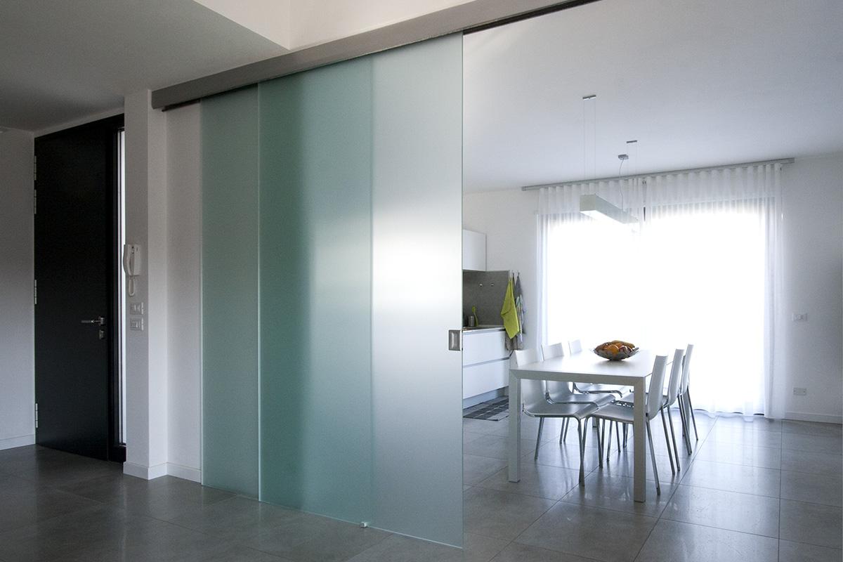 Albo serramenti Porte interne vetro acciaio