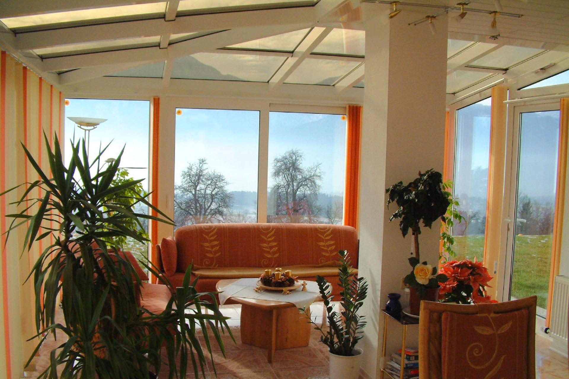 Giardino d'inverno winter garden serramenti alluminio taglio termico gorizia