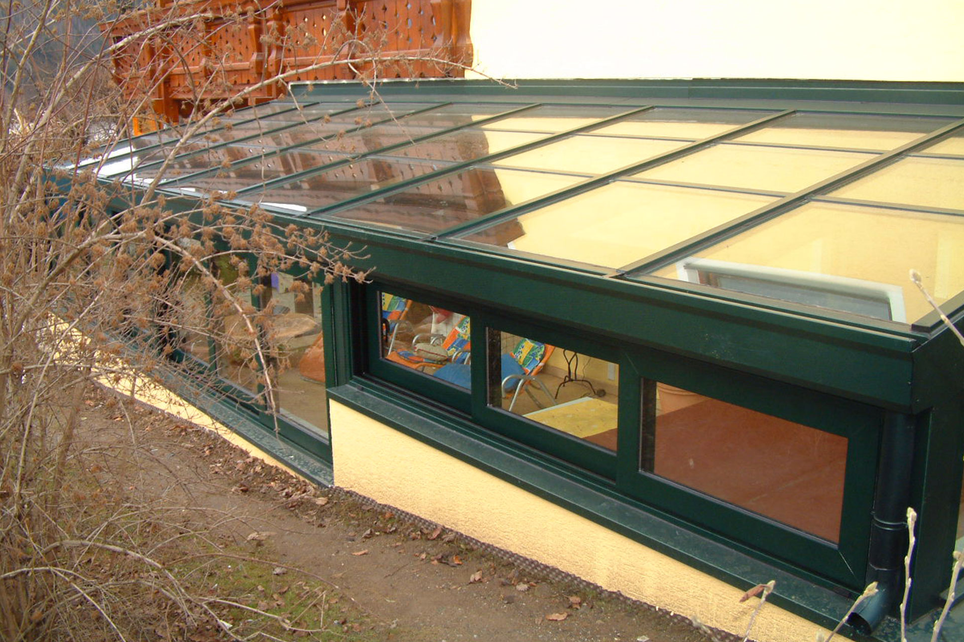 Giardino d'inverno serramenti alluminio udine