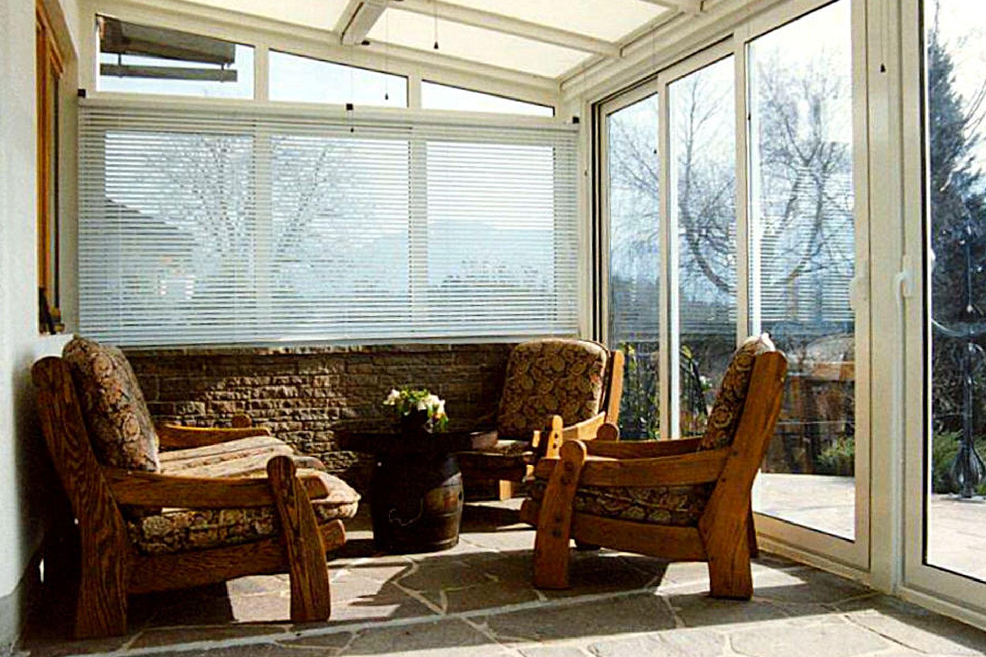 Giardino d'inverno winter garden serramenti alluminio taglio termico