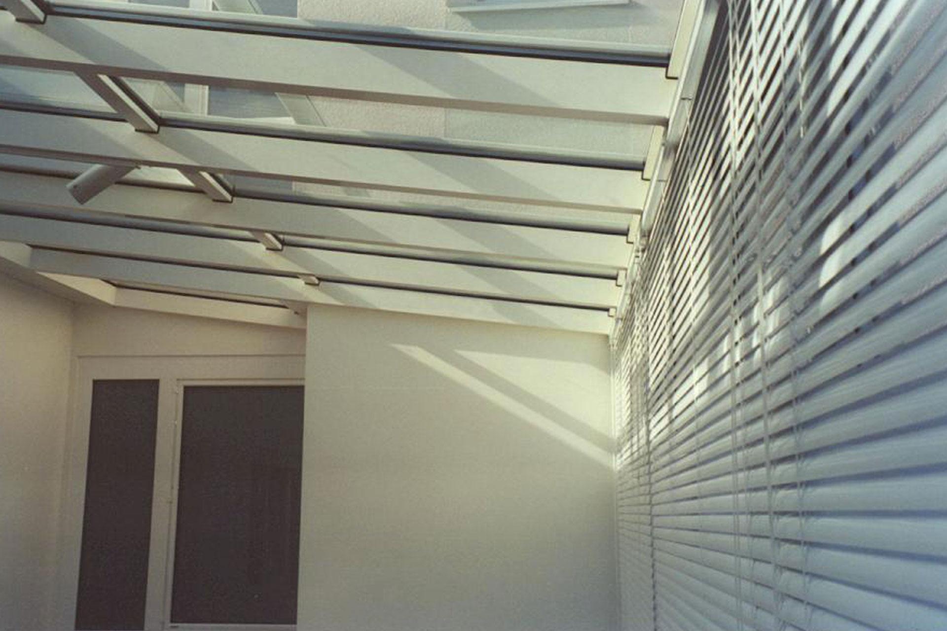 Giardino d'inverno winter garden serramenti alluminio taglio termico lucernari