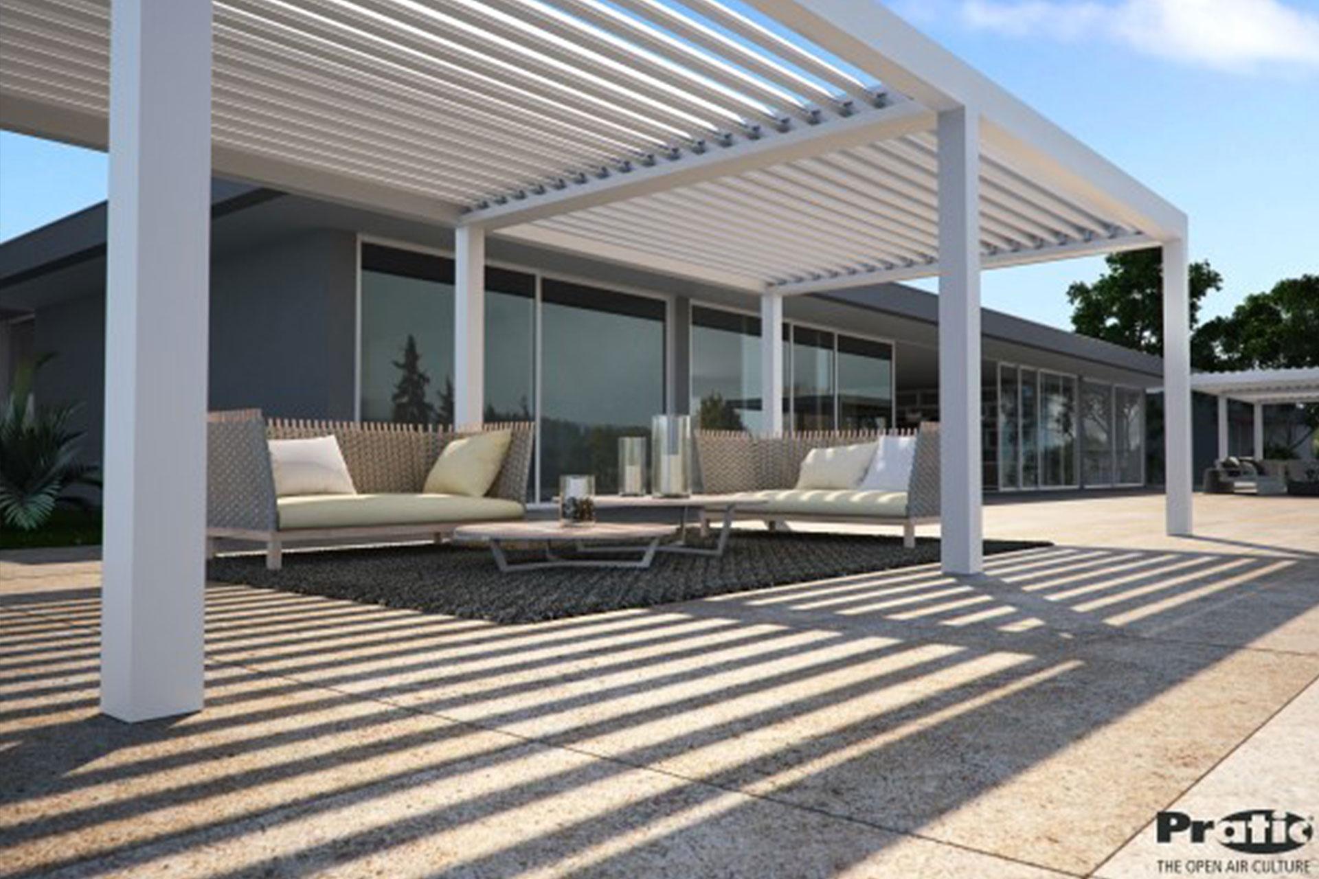 pergola bioclimatiche albo serramenti alluminio giardino udine