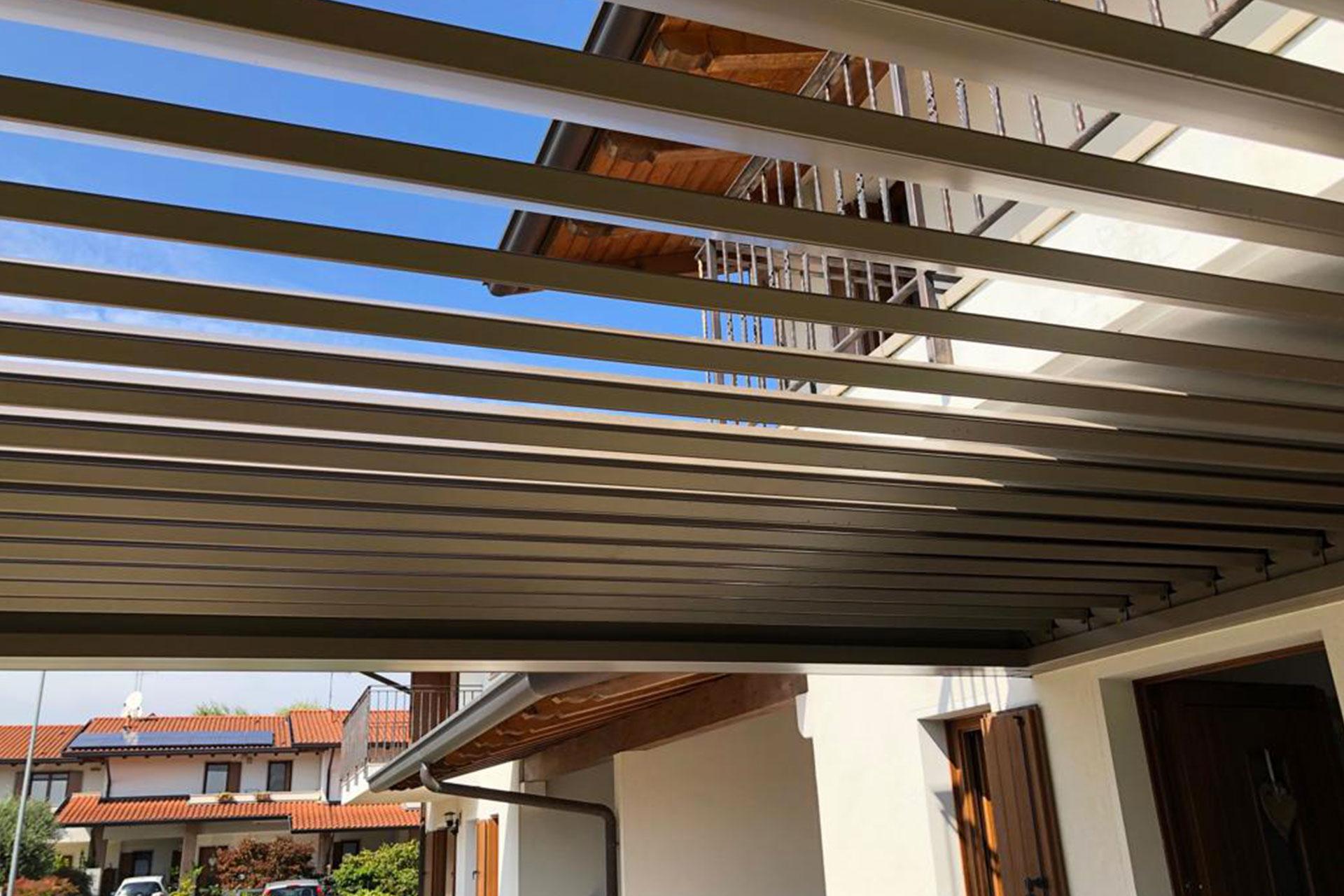 pergola bioclimatiche albo serramenti alluminio giardino pordenone