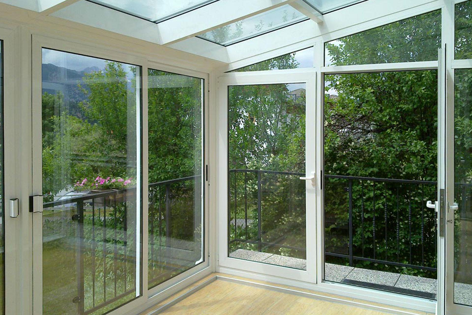 Veranda alluminio taglio termico gorizia albo serramenti