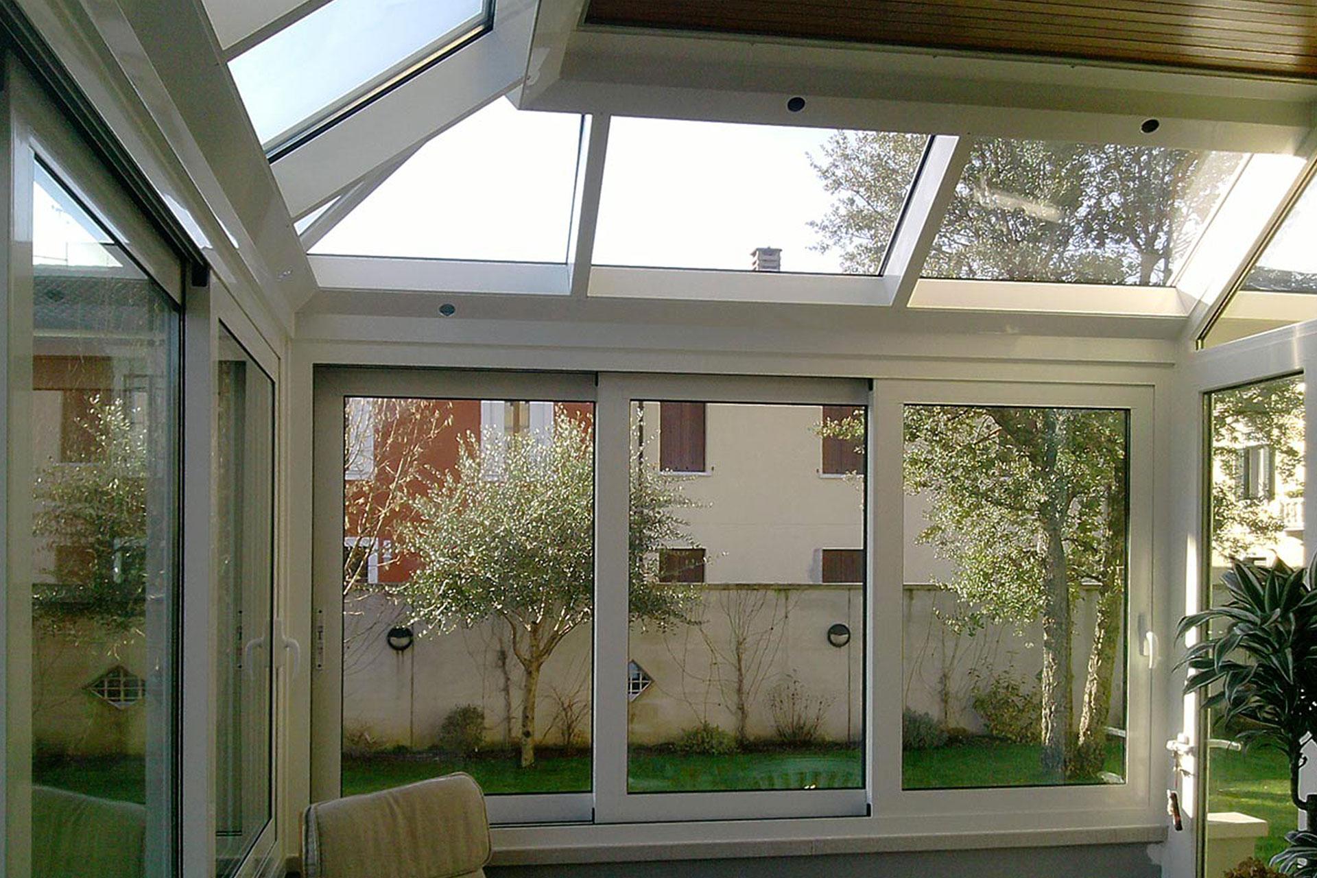 Giardino d'inverno winter garden serramenti alluminio taglio termico gorizia albo serramenti