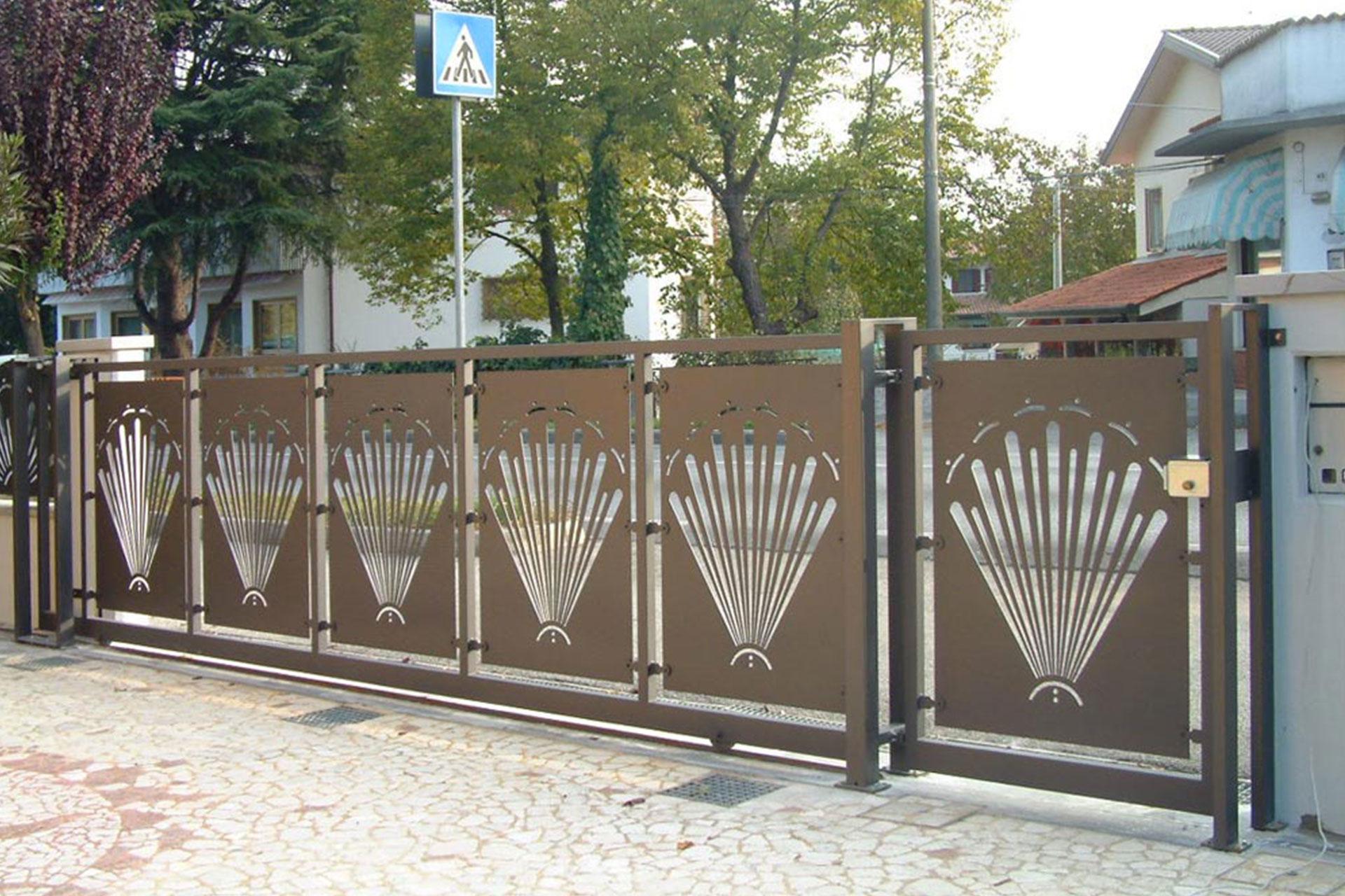 cancelli recinzioni carpenteria metallica albo serramenti pordenone