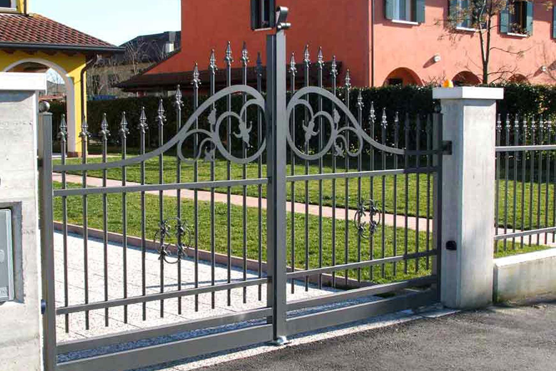 cancelli recinzioni carpenteria metallica albo serramenti gorizia