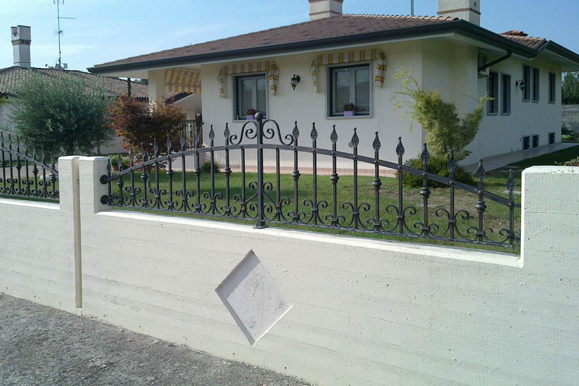 cancelli recinzioni carpenteria metallica albo serramenti trieste