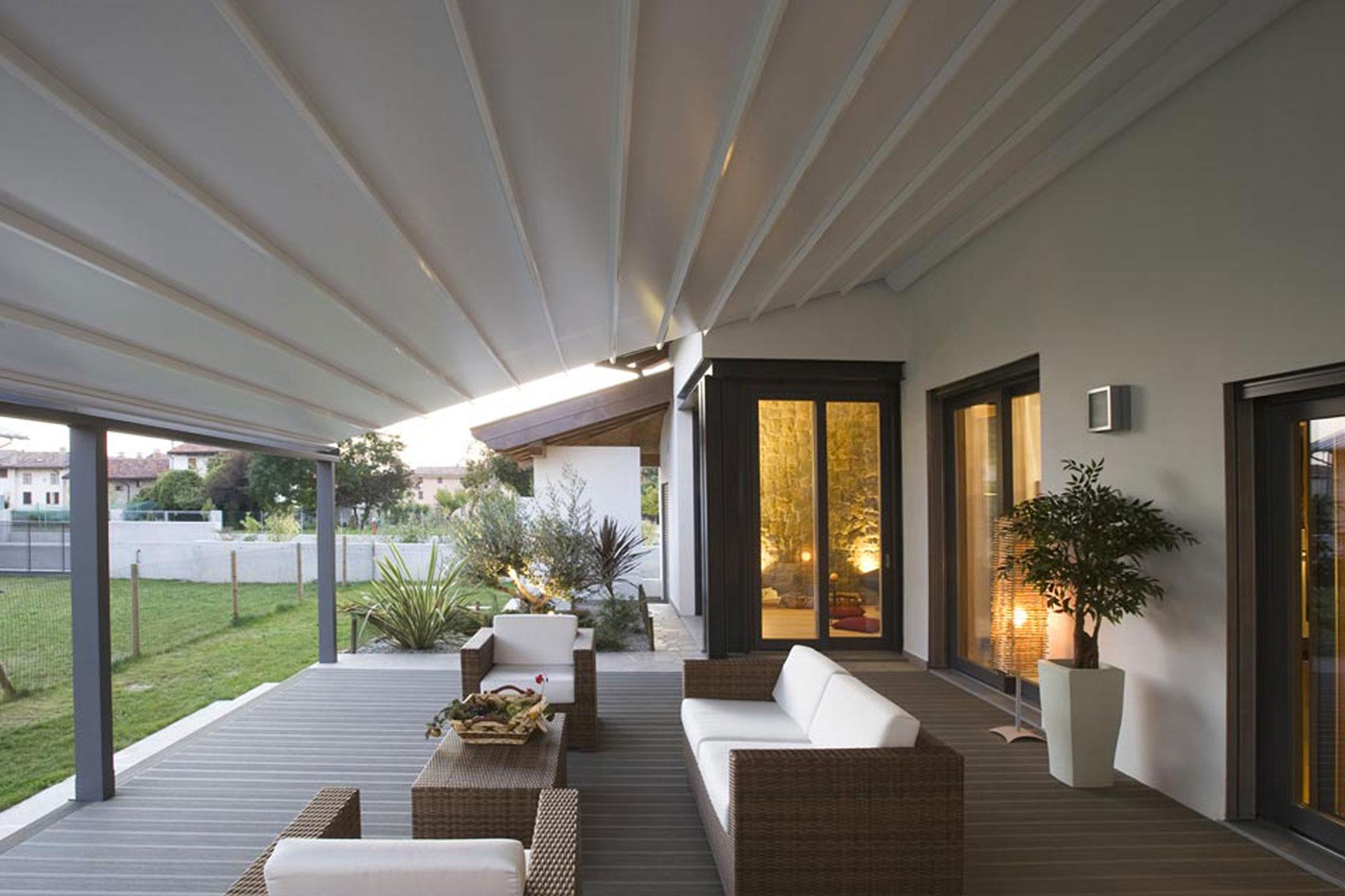 pergola albo serramenti alluminio giardino pordenone