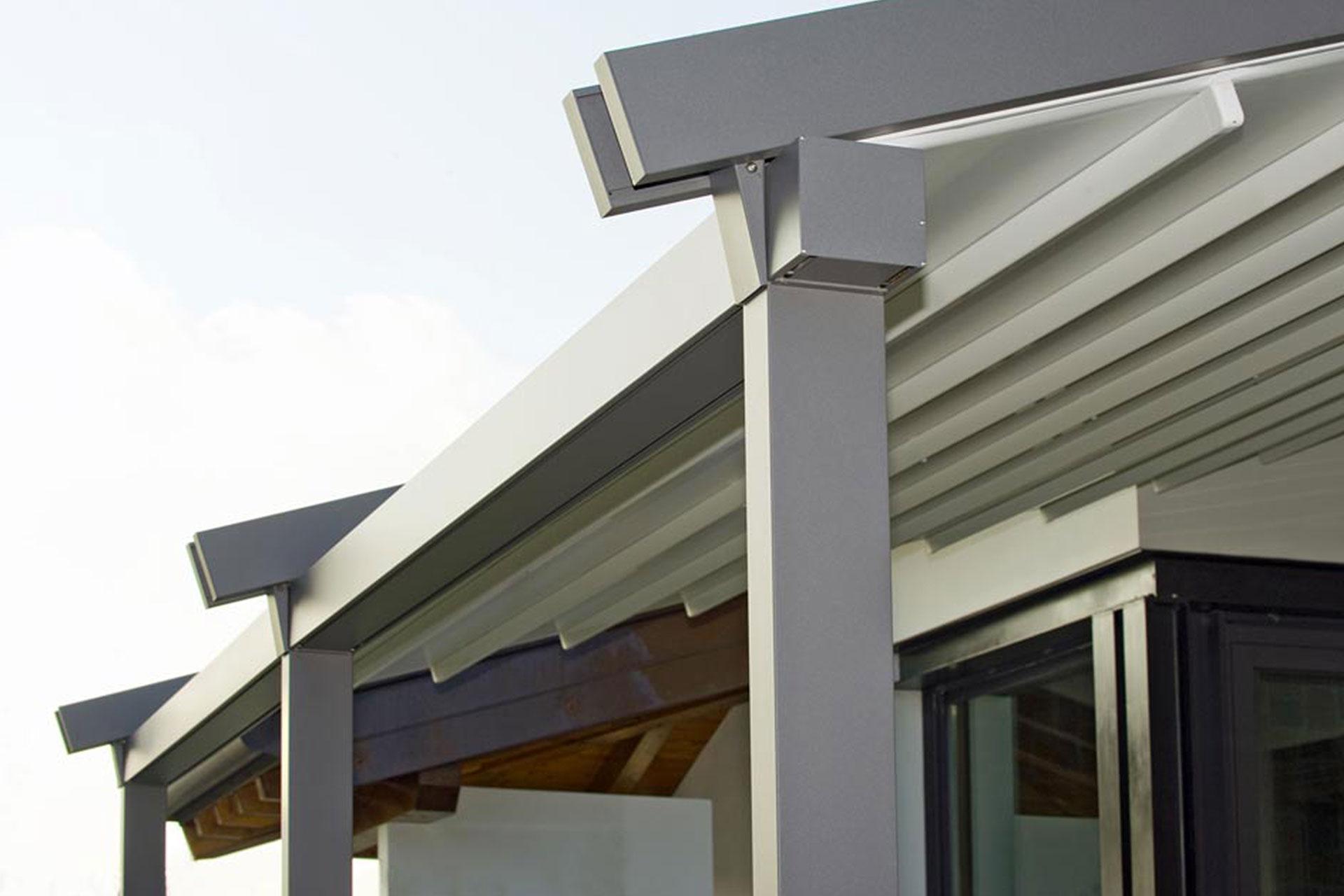 pergola albo serramenti alluminio giardino udine
