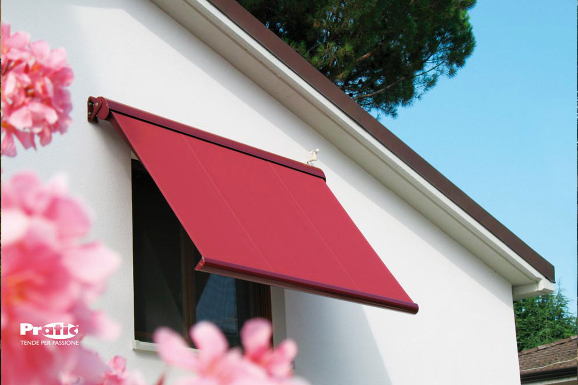 tende oscuranti albo serramenti alluminio pratic rosse pn