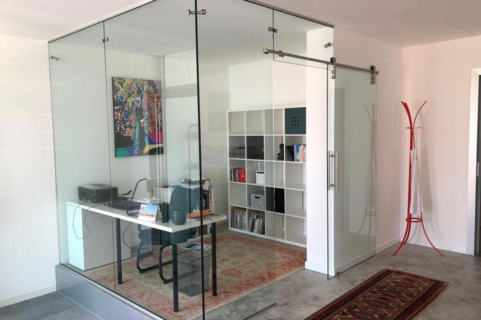 pareti ufficio albo serramenti Udine